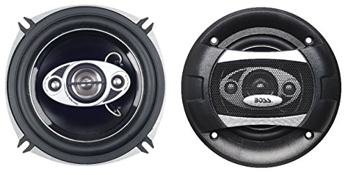 %11 OFF! BOSS Audio Systems P55.4C 300 Watt Per Pair, 5.25 Inch, Full Range, 4 Way Car Speakers Sold...