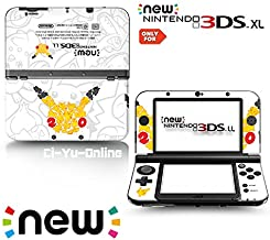 Ci-Yu-Online VINYL SKIN [new 3DS XL] - 20th Anniversary Pikachu - Limited Edition STICKER DECAL COVER for NEW Nintendo 3DS XL / LL Console System
