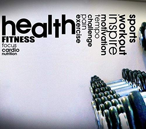 Healthexercisepain Quote Decal Exercise Fitness Inspire Cardio Wall Life ⭐