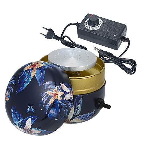 Mini máquina de cerámica Máquina de cerámica eléctrica Rueda de cerámica eléctrica Máquina de cerámica Máquina de cerámica DIY para niños Niños Estudiante Regulación