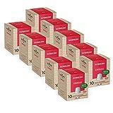 BANDOLERO 100 capsule compostabili Nespresso, caffè Cremoso, cialde compatibili Nespresso, Made in Italy, capsule compatibili Nespresso, cialde compostabili in confezione salvafreschezza