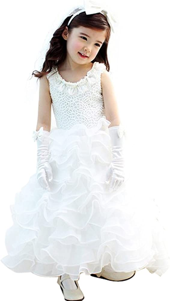 Shiny Toddler Little Girls Princess Dress 4-8y Max 41% OFF Low price Wedding for