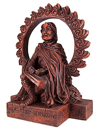 Dryad Design Celtic God Lugh Statue Wood Finish