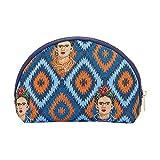 Signare Tapiz Neceser Mujer Neceser Maquillaje Neceser niña Organizador Bolsos de Mujer con diseño de Frida Kahlo (Frida Icon)
