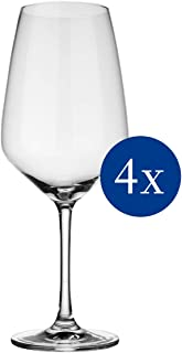 VIVO by Villeroy & Boch Group Voice Basic Red Wine Glasses, Set of 4, 497 ml, Crystal Glass, Clear