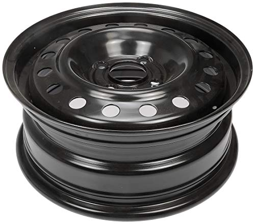Dorman Steel Wheel with Black Painted Finish (15x6'/4x108mm)
