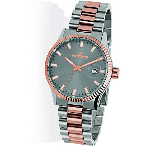 Orologio Hoops Luxury silver and gold