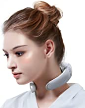 Electric Neck Massager, Portable 3D Neck Massage Equipment, Heating + Vibration + Impulse Function, Deep Tissue Massage for Neck, Use at Home, Car, Office and Travel