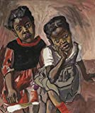 Berkin Arts Alice Neel Giclee Print On Canvas-Famous Paintings Fine Art Poster-Reproduction Wall Decor(Two Girls Spanish Harlem) #XFB
