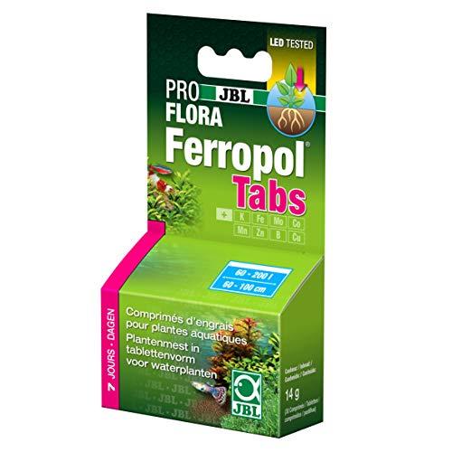 JBL ferrotabs 30Compresse di Fertilizzante per Piante acquatiche 14g