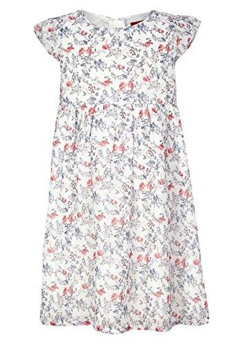 s.Oliver Mädchen 58.802.82.2781 Kleid, Mehrfarbig (Ecru Multicolored Stripes 02S6), 104