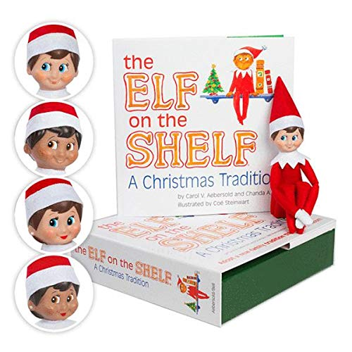 Elf on the Shelf - a Christmas Tradition blue-eyed boy scout elf | English Book