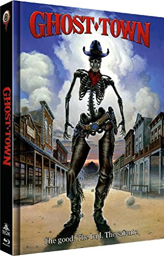 Ghost Town - UNCUT - 2-Disc Limited Collector's Edition Nr. 12 (Blu-ray + DVD) - Limitiertes Mediabook auf 555 Stück, Cover B