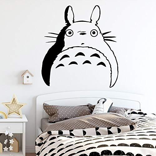 wZUN Divertida Etiqueta de la Pared Gato Creativo calcomanía Vinilo Papel Tapiz niños habitación Pegatina Dormitorio Pared 42X43cm