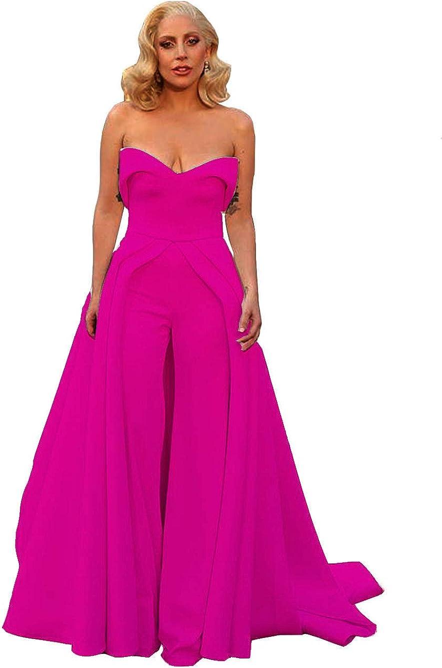 Emmani Women's Jumpsuits Evening Dresses Overskirt Sweetheart Bridal Guest Dresses