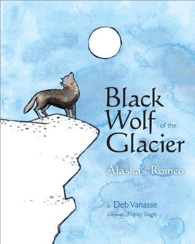 Black Wolf of the Glacier: Alaska's Romeo