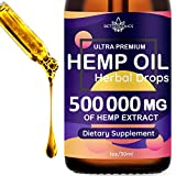High Active Ingredient Concentration: Hemp-Health Hemp Oil Drops Review