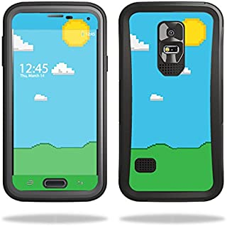 Skin Compatible with OtterBox Preserver Samsung Galaxy S5 Case – Gamer Landscape | MightySkins Protective, Durable, and Unique Vinyl wrap Cover | Easy to Apply, Remove | Made in The USA