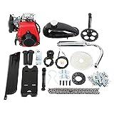 "Iglobalbuy 49cc Powerful Pull Start 4-Stroke Cycle Motor Kit Compete Gas Kit Motorized Bike Petrol Gas Bicycle Engine for 28"" V frame Bike and 26"" ATV"