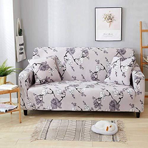 Stretch Seat Cushion Protector,Bedruckte Sofabezug mit Muster, elastische rutschfeste Sofabezug, universelles Sofakissen für alle Jahreszeiten, Schutzhülle für Wohnzimmermöbel - Farbe 14_235-300 cm