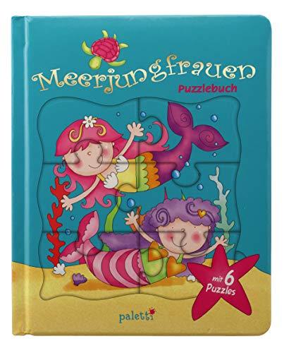 paletti Puzzlebuch Meerjungfrauen Vorlesebuch mit 6 Puzzles