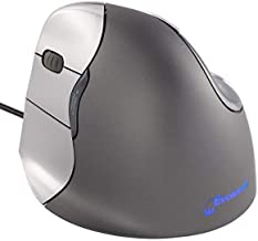 Evoluent VM4L VerticalMouse 4 Left Hand Ergonomic Mouse with Wired USB Connection (Regular Size.) The Original VerticalMou...