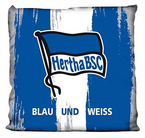 Hertha BSC Berlin Kissen blau und Weiss