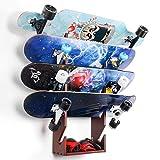 InchMall Skateboard Rack | Skateboard Aufbewahrung | Wandmontage...