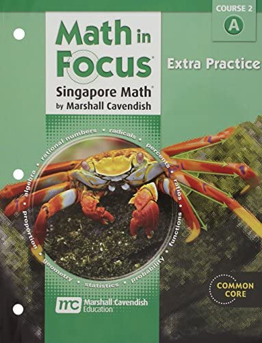 Math in Focus Singapore Math Extra Practice Book a Course 2 product image