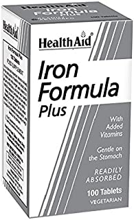 HEALTH AID - IRON FORMULA 100COMP HEALTH