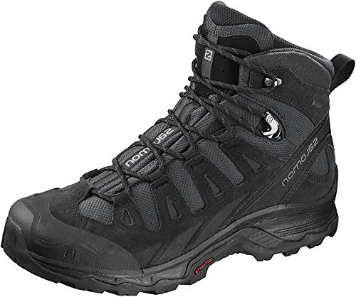 Salomon Quest Prime GTX, Zapatillas de Senderismo para Hombre, Gris (Phantom/Black/Quiet Shade), 42 EU