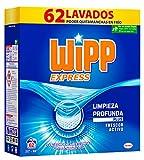 Wipp Express Detergente Polvo Azul para lavadora - 62 Lavados