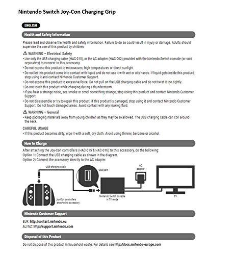 PowerA Joy Con Comfort Grips for Nintendo Switch - Black