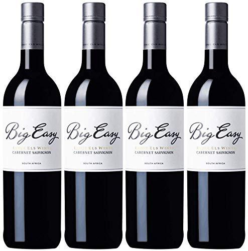 Ernie Els Big Easy Cabernet Sauvignon Weinpaket | 2018 | Weißwein aus Südafrika (4 x 0.75l) | Trocken | Weine für jeden Geschmack von CAPREO