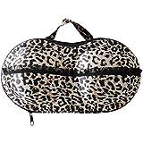 Travel Bra Underwear Organizer, Portable Bra Storage Case with Net, Traveling Lingerie Protective Organizer Bag for Luggage, Also for Women Bras Bikini Socks Neck Ties Scarves