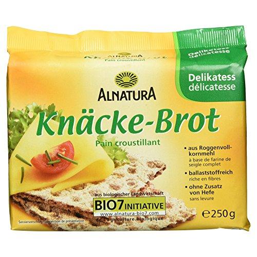 Alnatura Bio Delikatess-Knäckebrot, 250 g