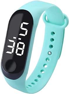 Baosity Detachable LED Watch Fashion Sport Life Water-Resistant Digital Watch for Boys Girls Men Women Bracelet Watch