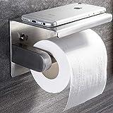 Porte Papier Toilette, ZUNTO Support Papier Toilette Acier Inoxydable 304