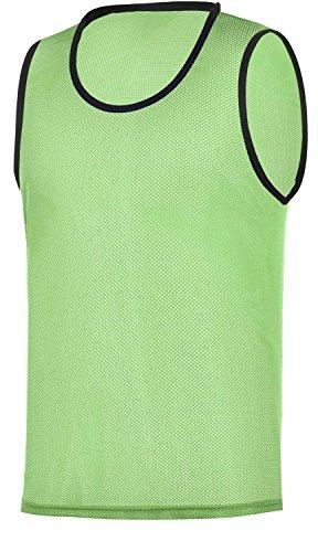 RHINOS sports Trainingsleibchen, Markierungshemd grün XL