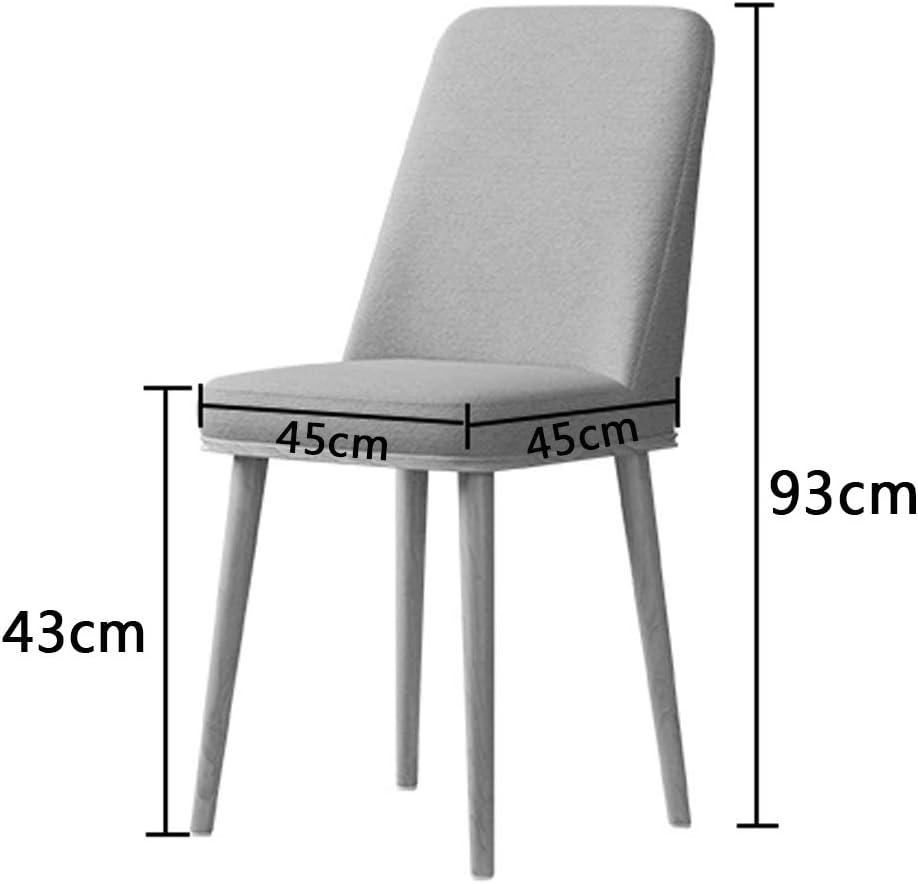 KST Chaise de Salle à Manger, Chaise de Cuisine en Cuir avec Pieds en métal sans accoudoirs, imperméable et Facile à Assembler, adaptée au Salon, à la Salle à Manger, à l'hôtel A