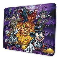 ミッキーの魔法のハロウィーンパーティー デラックスマウスパッド防水/洗える/滑り止めのゲームとオフィスの理想