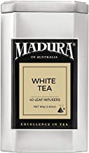 Madura White Tea Leaf 40 Infusers in Tea Caddy, 1 x 80 g