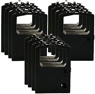 OKI Black Ribbon Cartridge - Cinta de impresoras matriciales (Negro, MICROLINE 186 Parallel (120v, USB) MICROLINE 186 Parallel (Black))