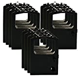 12 Packs Ribbon Cartridge for OKIDATA OKI MICROLINE ML 180-182-184-320-390-391 52104001