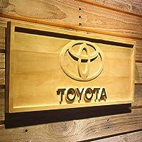 Japan T Car 木製看板 サインボード ドアプレート 3D彫刻 広告用標識 玄関 部屋飾り 壁掛け 横58cm x 縦23cm