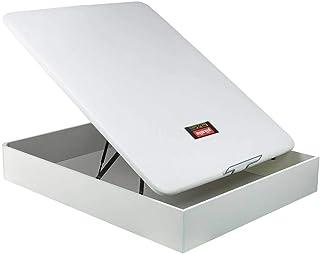 comprar comparacion Canapé Abatible Pikolin NaturBox - Blanco, 135x190cm