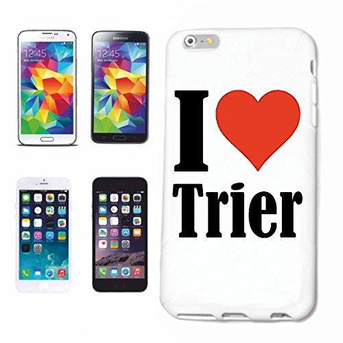 Reifen-Markt Handyhülle kompatibel für iPhone 7 I Love Trier Hardcase Schutzhülle Handy Cover Smart Cover