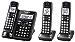 Panasonic KX-TGF543B Expandable Cordless Phone with Call Block and Answering Machine - 3 Handsets (Renewed)