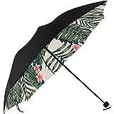 Ombrellone per uomo Palma Tropicale Allegro Foglie Stampa da sotto Ombrello da esterno Ombrello Passeggino Ombrello da viaggio Invertito Viaggio