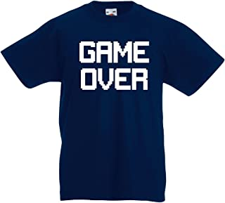 lepni.me Kids T-Shirt Game Over! Retro Gaming Funny Video Gamer Outfits